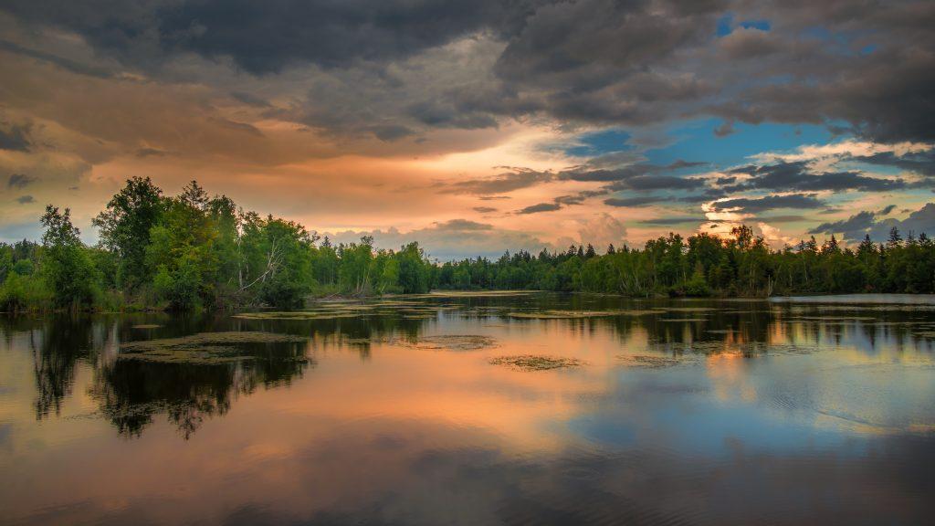 atmospheric background